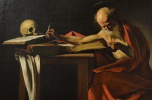 Saint Jérôme écrivant par Caravage